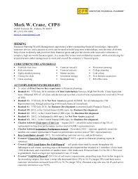 Cfp Resume