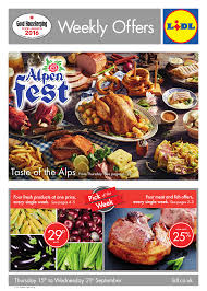 Lidl Offers Leaflet 15092016 21092016 Weekly Offers Online