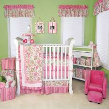 image of baby girl nursery decor ideas