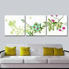 beautiful flower modern wall art decorative paintings giclee canvas print for public wall hanging 3 pcs on decorative modern wall art with beautiful flower modern wall art decorative paintings giclee canvas