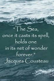 Quotes About Ocean Enchanting Pin By Beatrice V On Words 48 Pinterest Jacques Cousteau
