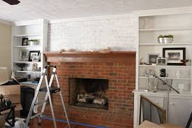 red brick fireplace makeover fireplace designs