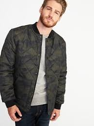 Quilted Bomber Jacket for Men | Old Navy & Quilted Bomber Jacket for Men Adamdwight.com