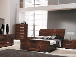 Impressive Modern Wood Bedroom Sets Pisa Bed Contemporary Italian Design  With Zebra Wood Inlays