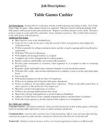 Restaurant Job Descriptions For Resume Good Job Summary For Resume