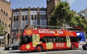 Barcelona Red Bus City Tour 10 Discount 27 Bcn Travel