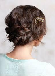 Chignons Tresses Sur Cheveux Longs