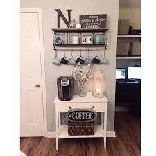 Ideas for Minimalist Apartment Coffee Bar -