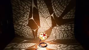 Gourd Lights Handmade Butterfly Gourd Lamp By Calabarte And Moving Shadows