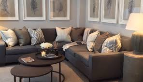 small decor leather room idea decorating grey apartment color walls dark couch living ideas sofa cosy