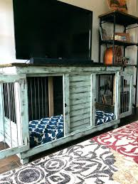 dog kennel side table dog kennel table double dog crate furniture double dog kennel perfect for