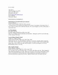 Chef Resume Cover Letter Cover Letter For Chef Position Free Resume