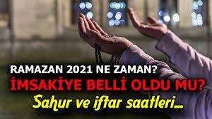 Ramazan Ayı hangi tarihte başlıyor, 2021 imsakiye saatleri kaç? Ramazan  Bayramı ne zaman başlıyor, kaç gün sürüyor? - Son Dakika Haberleri Milliyet