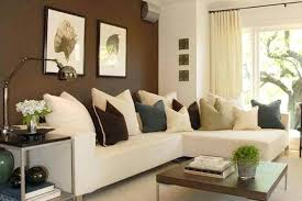 decorating ideas for small living rooms with brown furniture room
