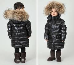real fur coats for kids down coat