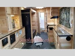 new 2018 american surplus ice castle toy hauler rv edition with slide out ice houses at smokey hills outdoor park rapids mn 1721945