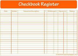 Printable Bank Register Best Checkbook Register Ideas On Check Ledgers Printable