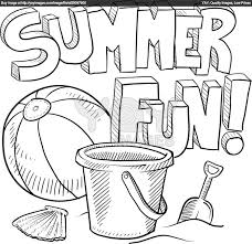 Small Picture Summer Fun Coloring Pages To Print Coloring Pages