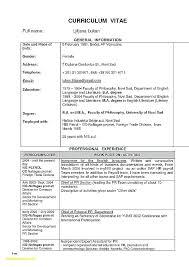 Indian School Teacher Resume Format Resume Format For School High