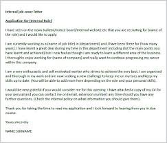 Cover Letter For Internal Promotion Internal Promotion Cover Letter Examples Elim