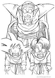 Dragon Ball Z Coloring Pages Dragon Ball Z Coloring Pages Free