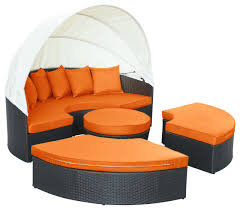 espresso orange quest canopy outdoor