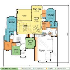 Ingenious Inspiration 3 Farmhouse Plans With Two Master Suites 17 Dual Master Suite Home Plans