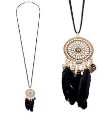 Dream Catcher Necklace Forever 21 Beauteous New Forever 32 Dream Catcher Black Feather Filigree Pendant
