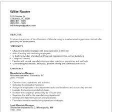 Manufacturing Resume Samples Unique Vp Marketing Resume