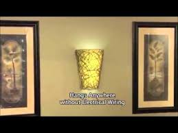 battery wall sconce. Battery Operated Wall Sconce - Wicker Style With Remote T