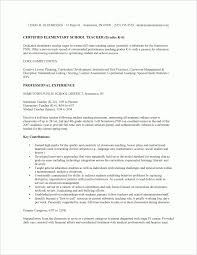 Early Childhood Resume Delectable Resume For Student Teachers Examples
