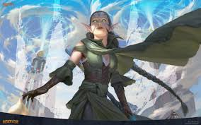 magic the gathering images nissa vital force hd wallpaper and background photos