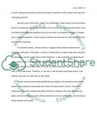 unholy sonnet by mark jarman essay example topics and well   text preview