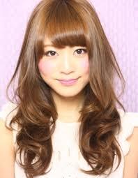 小顔ロングパーマ髪型ke 84 ヘアカタログ髪型ヘアスタイル