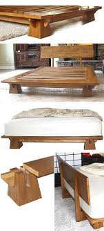 diy japanese furniture. platform bed japan efficient wakayama frame features interlocking japanese diy furniture r