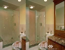 minimalist bathroom glass shower panels with frameless glass shower doors
