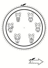 Disegno Da Colorare Orologio Delle Emozioni Cat 24015 Images