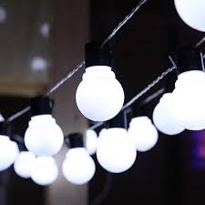 Outdoor Holiday Globe Lights Us 9 77 30 Off Globe String Lights Outdoor Festoon Light Bulbs 2 5m 10 Led Christmas Holiday Garden Patio Party Decorative Strip 220v Jq In Led