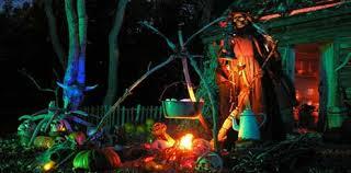 Spell Casting in Witch Woods. voodoo skeleton idea  Outdoor  HalloweenHalloween ArtHalloween Haunted ...