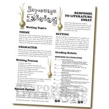 esperanza rising essay prompts grading rubrics by created for esperanza rising essay prompts grading rubrics