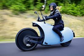 johammer j1 retro futuristic electric motorcycle can travel over
