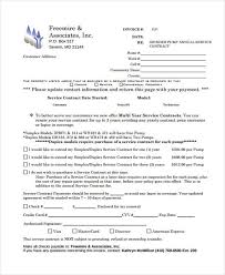 11+ Service Contract Templates - Free Sample, Example Format ...