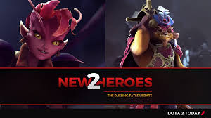 dota 2 announces two new heroes the dueling fates update dota