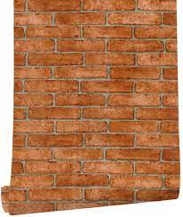 HaokHome 62033 Faux Brick Peel and ...