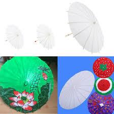 details about paper umbrella chinese japanese mini parasol umbrella diy graffiti kids toys