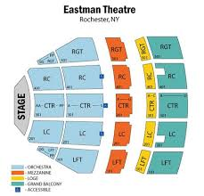 Image Result For Eastman Theater Seating Chart Seating