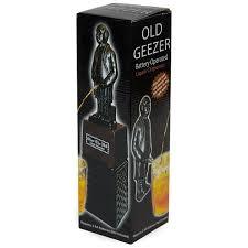 dispenser back over the hill old man whizzer liquor box
