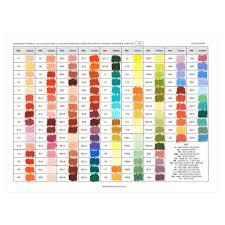 Pastel Color Code Chart Unison Soft Pastel Handmade Colour Chart