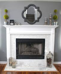 diy fireplace makeover home decor home decorating fireplace mantle