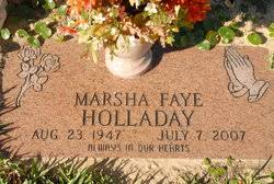 Marsha Faye Holladay (1947-2007) - Find A Grave Memorial